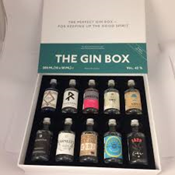 The gin box World Tour